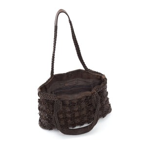 Forge Tote in Dark Umber
