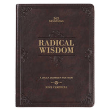 Load image into Gallery viewer, Radical Wisdom- Daily Devotional Gift Book for Men