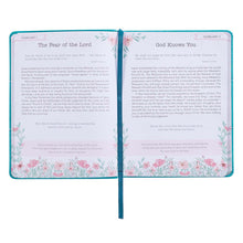 Load image into Gallery viewer, In the Light of His Glory- Leather Devotional Gift Book