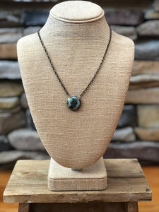 Felicity Turquoise Pendant Necklace