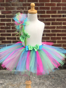 Bright Rainbow Surprise Tutu