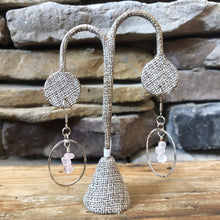 Load image into Gallery viewer, Fiona Large Fine Silver Earrings