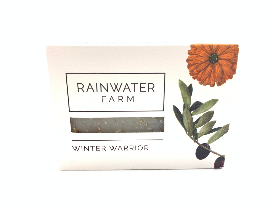 Winter Warrior Soap