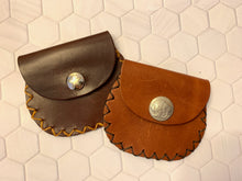Load image into Gallery viewer, Leather Coin Pouch
