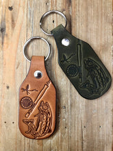 Load image into Gallery viewer, The Fishermans' Leather Key Fob