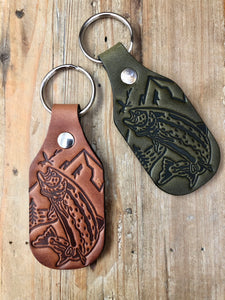 The Fishermans' Leather Key Fob