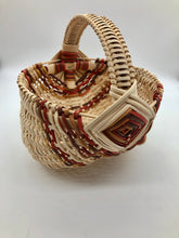 "Load image into Gallery viewer, 8"" Rib Basket with Multicolor Fall Accents"