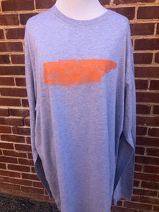 CLEARANCE- Long Sleeve 2XL Tennessee Roots Tee