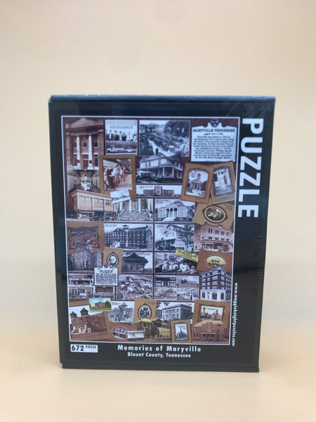 Memories of Maryville Puzzle