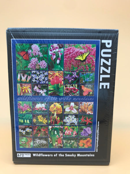 Wildflowers of the Smoky Mountains Puzzle