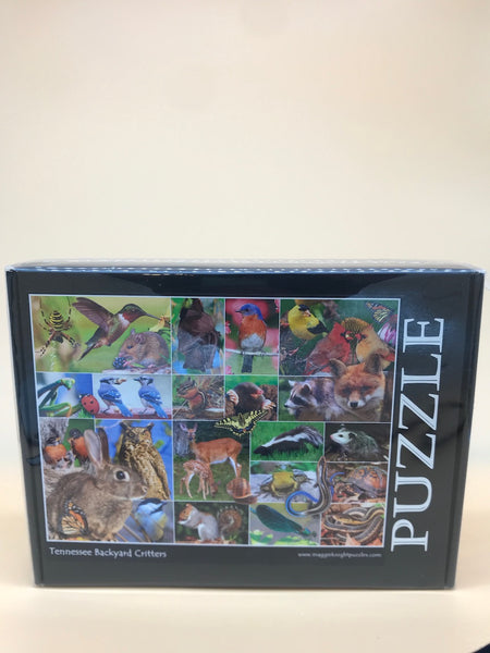 Tennessee Backyard Critters Puzzle