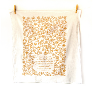 In Christ Alone- Hymn tea towel