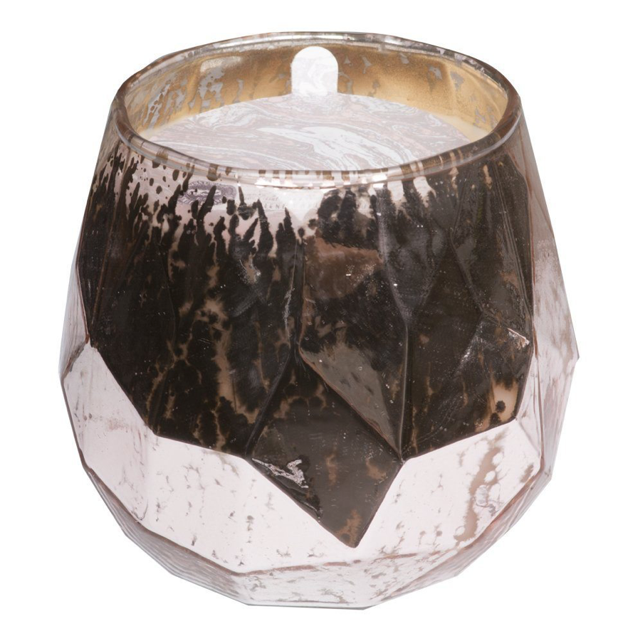 Sweet Grace Collection Large Faceted Glass Candle
