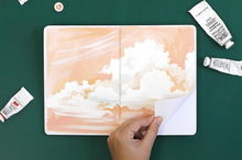 Load image into Gallery viewer, Sunset Stripe Sketchbook