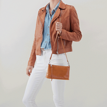 Load image into Gallery viewer, Cadence Convertible Crossbody in Honey
