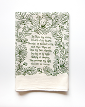 Load image into Gallery viewer, Be Thou My Vision- hymn tea towel