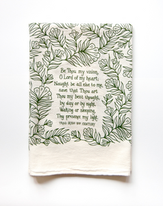 Be Thou My Vision- hymn tea towel