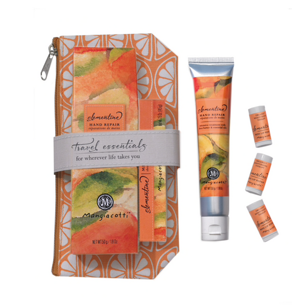 Clementine Travel Essentials Gift Set