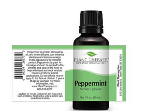 Peppermint Essential Oil 1oz