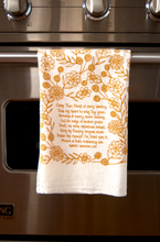 Load image into Gallery viewer, Come Thou Fount- hymn tea towel