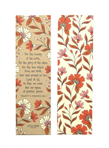 Hymn Bookmark- Assorted Styles