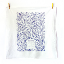 Load image into Gallery viewer, How Firm A Foundation- hymn tea towel