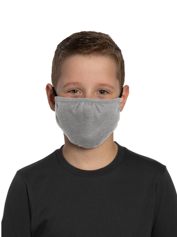 Kids Shaped Face Mask with Straps