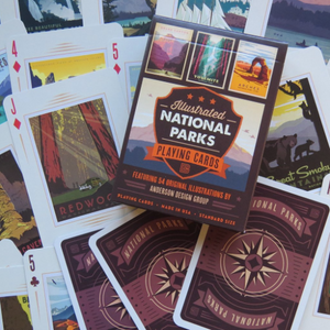 Playing Cards:  Illustrated National Parks