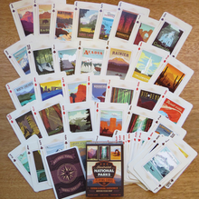 Load image into Gallery viewer, Playing Cards:  Illustrated National Parks