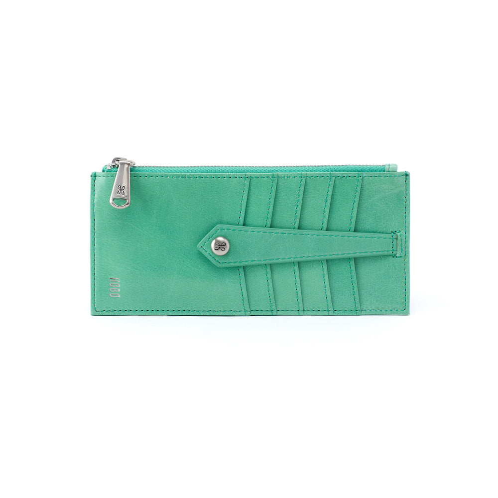 LINN- Hobo Credit Card Wallet in Mint