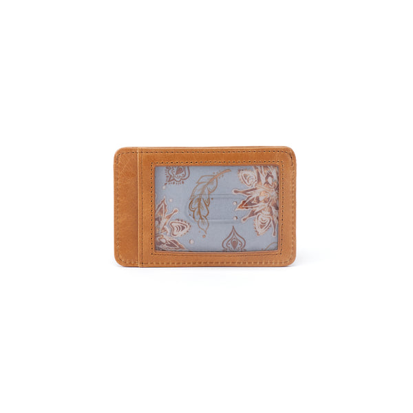Works Credit Card Wallet in Honey