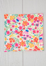 Load image into Gallery viewer, Half Boho Bandeau Cream Wildflowers