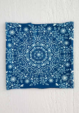 Load image into Gallery viewer, Half Boho Bandeau in Navy Mandala