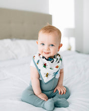 Load image into Gallery viewer, Bugs Deluxe Muslin Bandana Bib