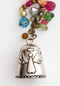Angel Blessing Bell Car Charm