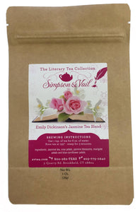 Emily Dickinson's Jasmine Tea Blend - 1oz