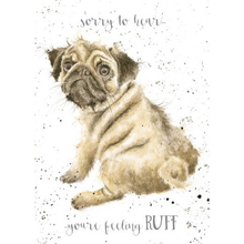 Load image into Gallery viewer, Feeling Ruff- Get Well Card