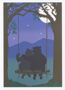 Assorted Bears Notecard Set