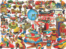 Load image into Gallery viewer, Tin Toy Treasures Puzzle