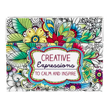 Load image into Gallery viewer, Creative Expressions Coloring Cards