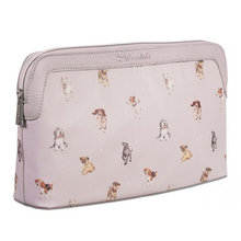 Load image into Gallery viewer, Woof!- A Dog's Life Large Cosmetic Bag