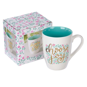 Choose Joy Ceramic Coffee Mug
