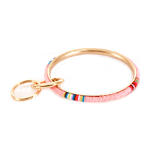 Load image into Gallery viewer, Multicolor Wristlet Key Ring