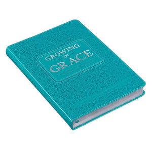 Growing in Grace Leather Daily Devotional Book