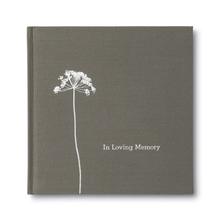 Load image into Gallery viewer, In Loving Memory Gift Book