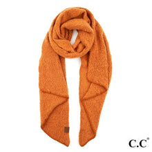 Load image into Gallery viewer, C.C. Brand Bias Cut Scarf Featuring Whipstitch Trim