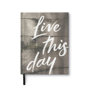 Live this Day- Guided Journal