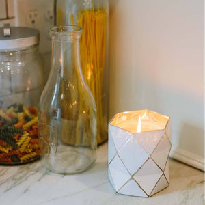 Sweet Grace Diamond Prism Large Candle #019