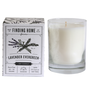 Lavender Evergreen Candle