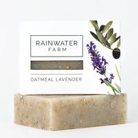 Rainwater Farm-Oatmeal Lavender Soap